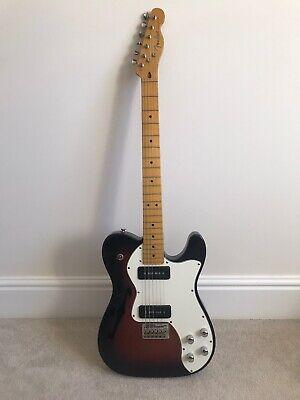 Usado, Fender Modern Player Thinline Deluxe Telecaster w/ Seymour Duncan Pickups +case segunda mano  Embacar hacia Mexico