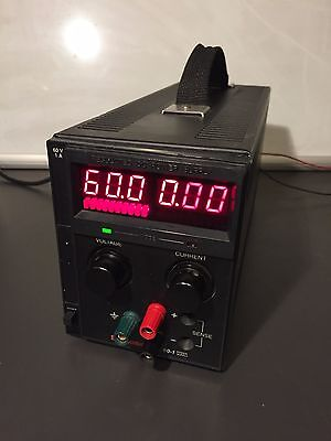 Sorensen Xantrex Xts60-1 Programmable Power Supply 0-60v0-1a 60w