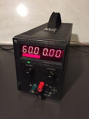 Sorensen Xantrex Xts60-1 Programmable Power Supply 0-60v0-1a 60w