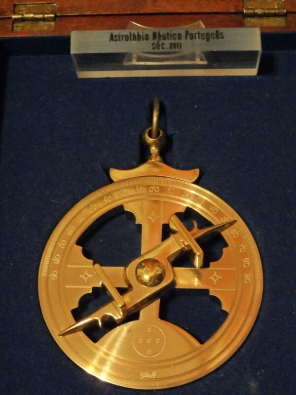 . The Mariners Astrolabe is Heavy Brass