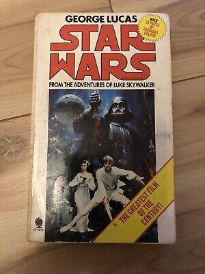 Star Wars ~ George Lucas ~ Vintage Movie Novel 1977