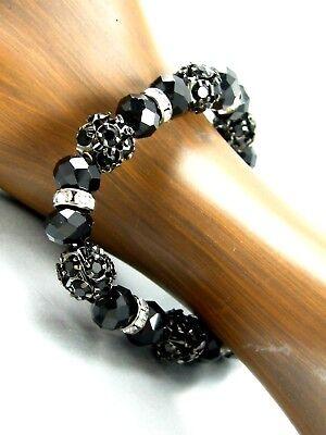 Exquisite Crystal Beads Bracelet Stretching Women Fashion Costume Jewelry Bracelet Costume Fashion Jewelry