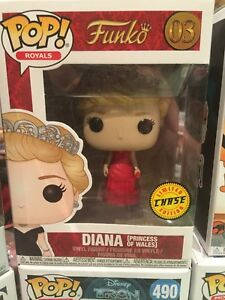 Diana Princess Of Wales Pop Funko Chase