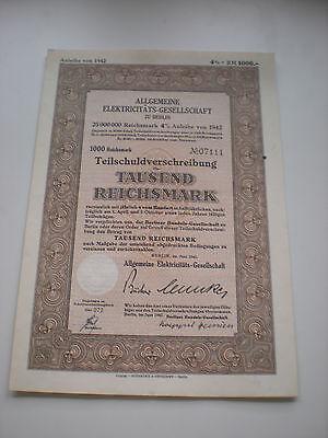 Deutschland - Algemeine Elekticitäts-Ges.   1/263