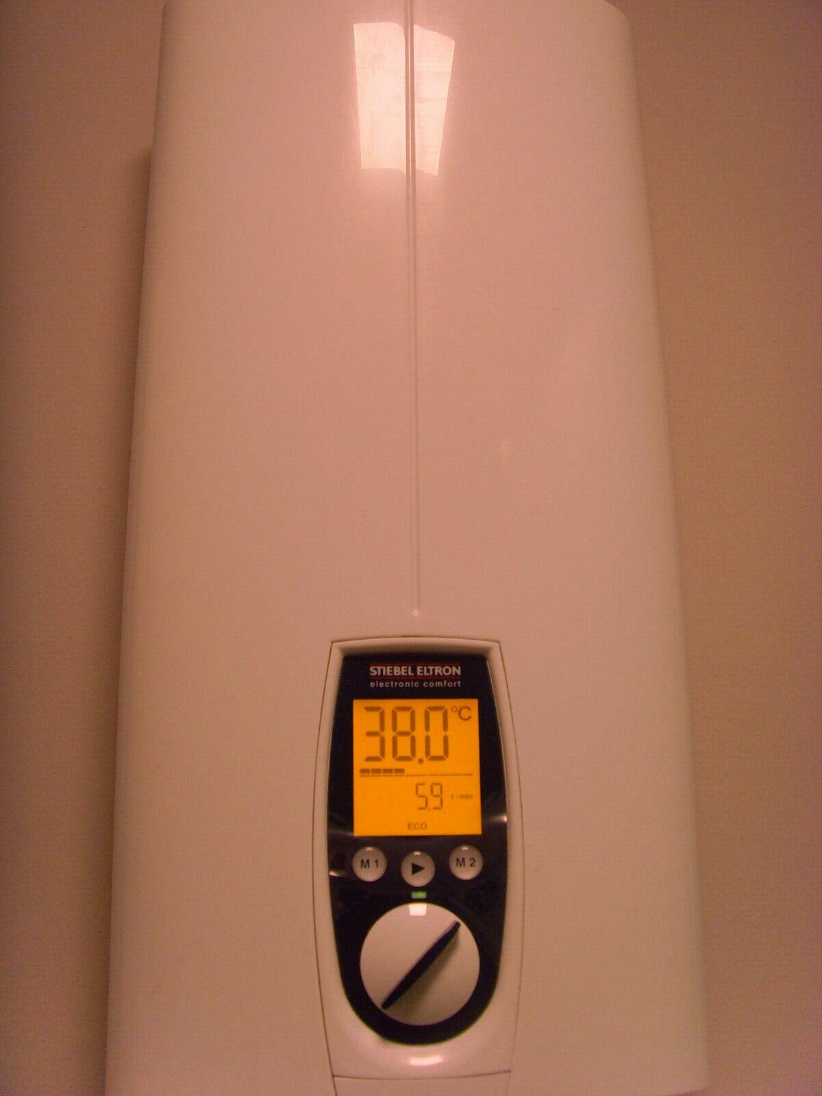 227490 umschaltbar vollelektronisch geregelter Durchlauferhitzer STIEBEL ELTRON DHE 18//21//24 SL
