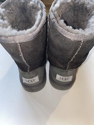 Girls UGG Boots - Gray - Size 2
