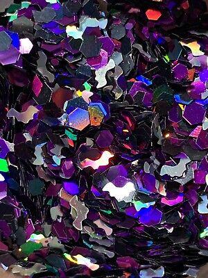 'Bat Cave' Glitter Mix Plus Free Gift! *1tsp* For Nail Art/Body/Slime