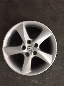 4 mags Mazda 17 pouces