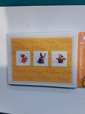 8 AMERICAN GREETINGS HALLOWEEN GREETING CARDS WITH ENVELOPES
