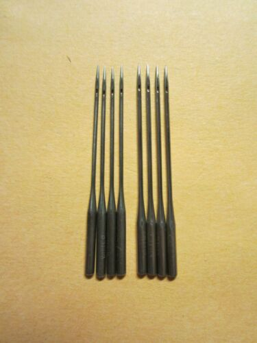 8 White, National, New Home 20x1 Treadle Sewing Machine Needles, sz 14 & 16
