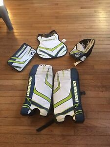 Kids Ball hockey goalie equipment PRICE REDUCED