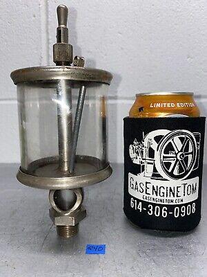 Lunkenheimer No 5 Fig 1300 Sentinel Nickel Oiler Hit Miss Gas Engine Antique