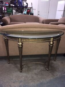 Galloway end table and sofa table for sale