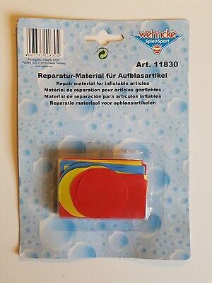 Wehncke Reparatur- Material für Aufblasartikel Art. 11830