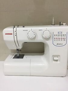Janome JR1012 Sewing Machine Brighton Bayside Area Preview