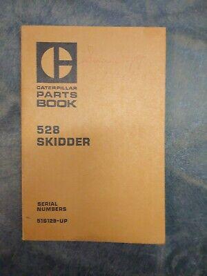 Caterpillar 528 Skidder Parts Book