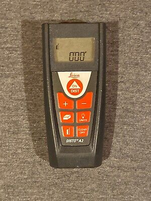 Leica Disto A2 Digital Laser Distance Meter W Backlight Used Free Ship