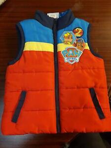 Paw patrol puffer vest