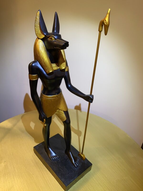 Anubis Large 16 Inch Egyptian Statue