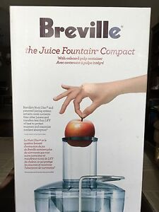 New Breville Juice fountain compact BJE200XL (juicer) St. John's Newfoundland image 4