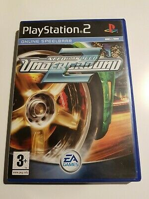 PS2 PLAYSTATION 2: NEED FOR SPEED UNDERGROUND 2