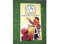 セカイモン Elmo S World Vhs Vhsビデオテープ Ebay公認
