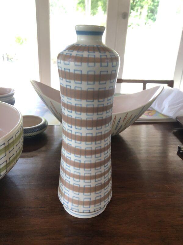 Vintage Poole Freeform Large Peanut Vase