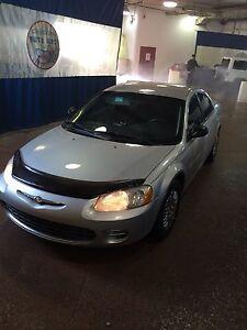 **LOW KM** 2002 Chrysler Sebring Sedan