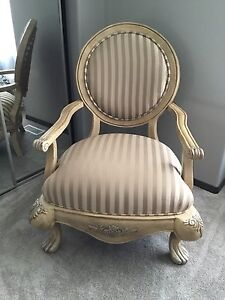 Moving sale high end 1 CHAIR and 1 matching SOFA