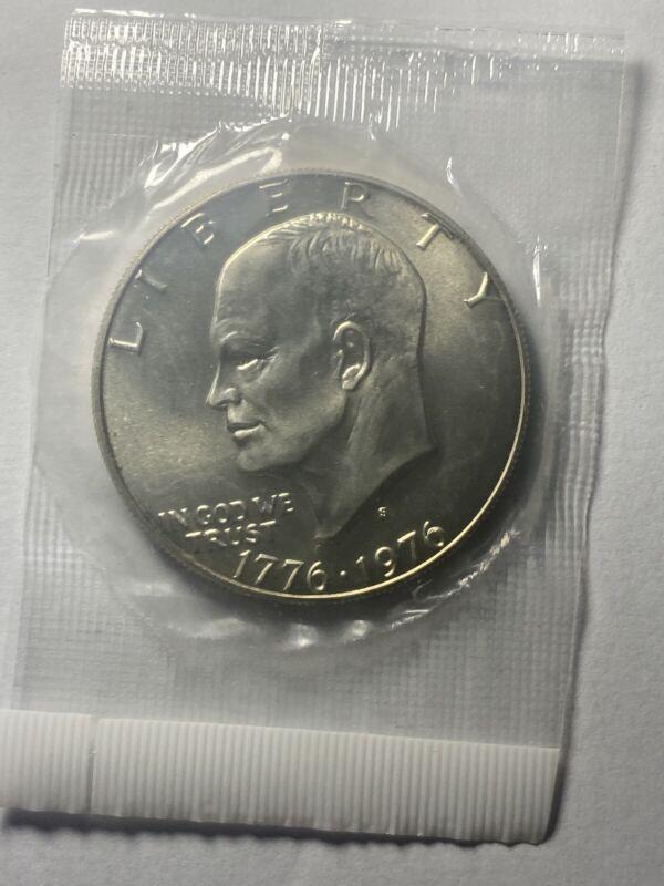 1976-S 40% bicentennial Silver Eisenhower Ike Dollar BEAUTIFUL COIN