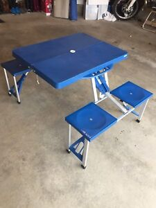 Picnic Table -  children's portable table- crafting table -