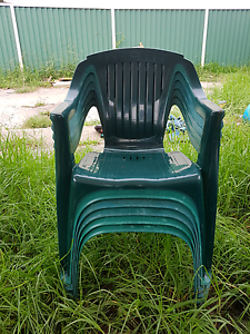 Plastic chairs Greenacre Bankstown Area Preview