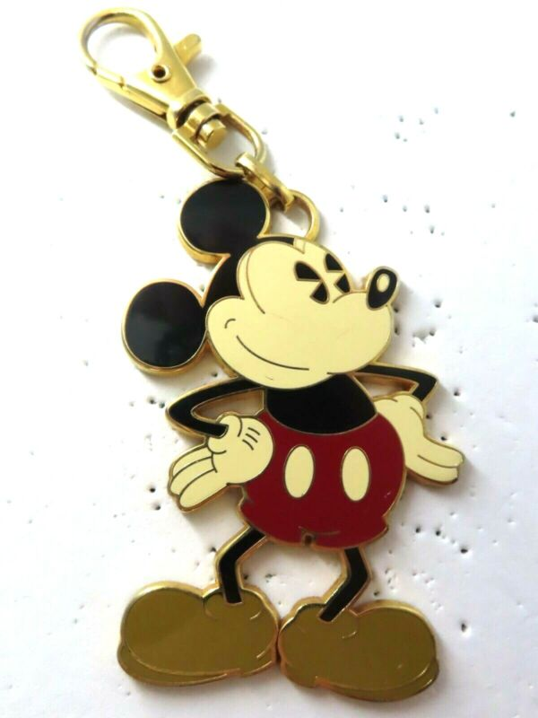 Disney Pin Mickey Mouse Pie Eyed (Lanyard Medal) AS IS #46025