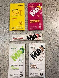 produit keto ,  Kit d'essais keto //os max et nat (pruvit)