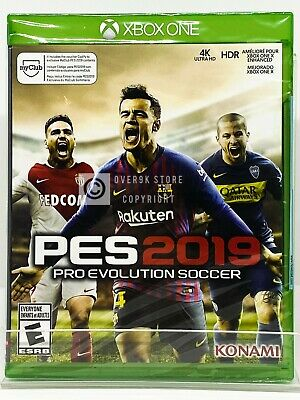 Pro Evolution Soccer 2019 - PES 2019 - Xbox One - Brand New | Factory Sealed for sale  Shipping to Nigeria