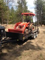 Compact Tractor For Hire Free Quotes