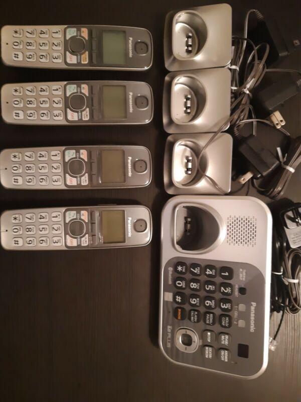 Panasonic KX-TG7741S DECT 6.0 PLUS Bluetooth Cordless Phone & Answering Machine
