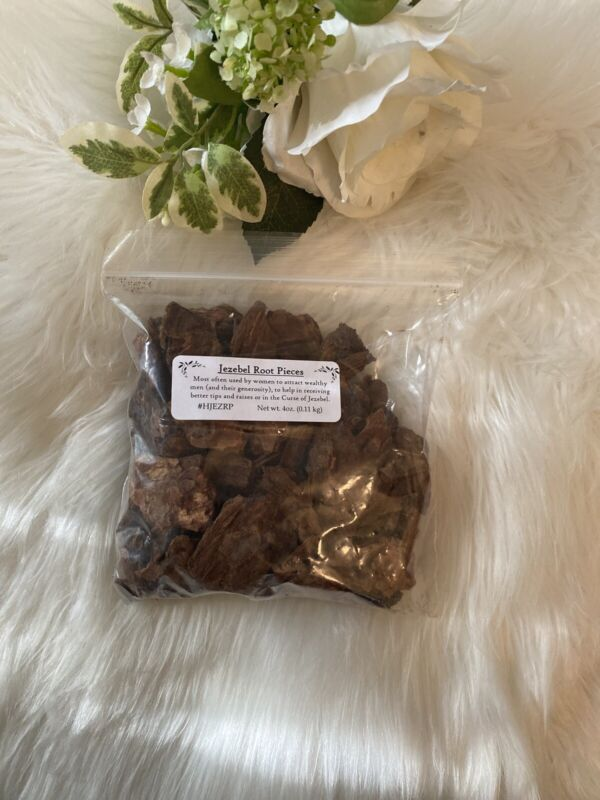 JEZEBEL ROOT PIECES 2 oz (wiccan pagan witch herbs Magick ritual offering)