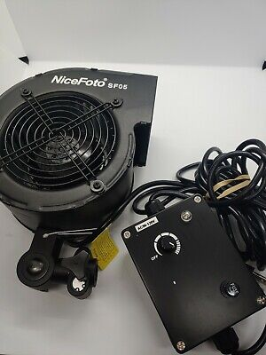 NiceFoto SF-05 Photography Wind Fan Blower Stage Special Effect Blowing Machine
