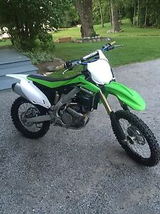 Kawasaki 2014 Kx 250f mint condition!  Peterborough Peterborough Area image 2