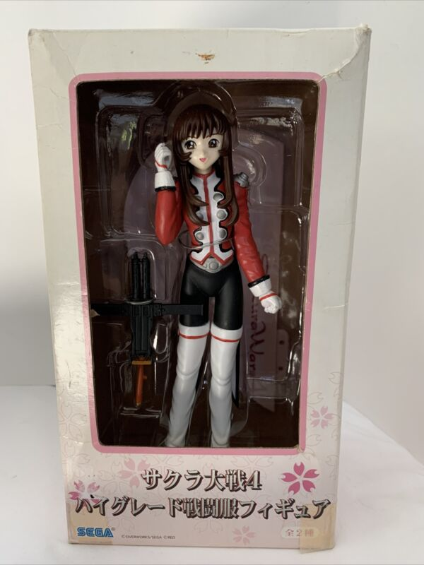 "Sakura Wars 4 Sega Action Figure 8"" Doll"