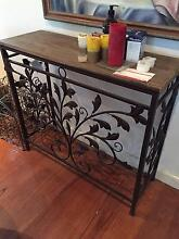 Beautiful buffet table - timber and metal frame Lane Cove North Lane Cove Area Preview