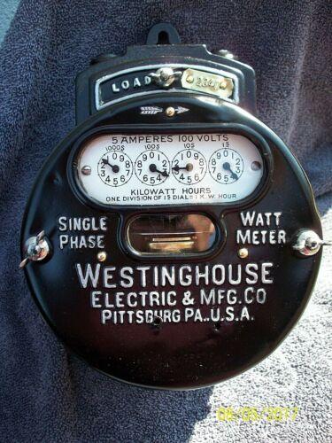 Vintage/Antique Electric Meter Refurbishing Service