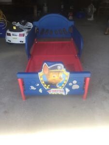 Kids paw petrol bed