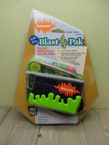 NICKELODEON BLAST PAK AM/FM CASSETTE PLAYER STEREO NEW SEALED 1996 N5100