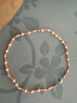 Kette baby gebraucht schon älter für Mädchen Perlen magnetverschluss 15cm durchm ()