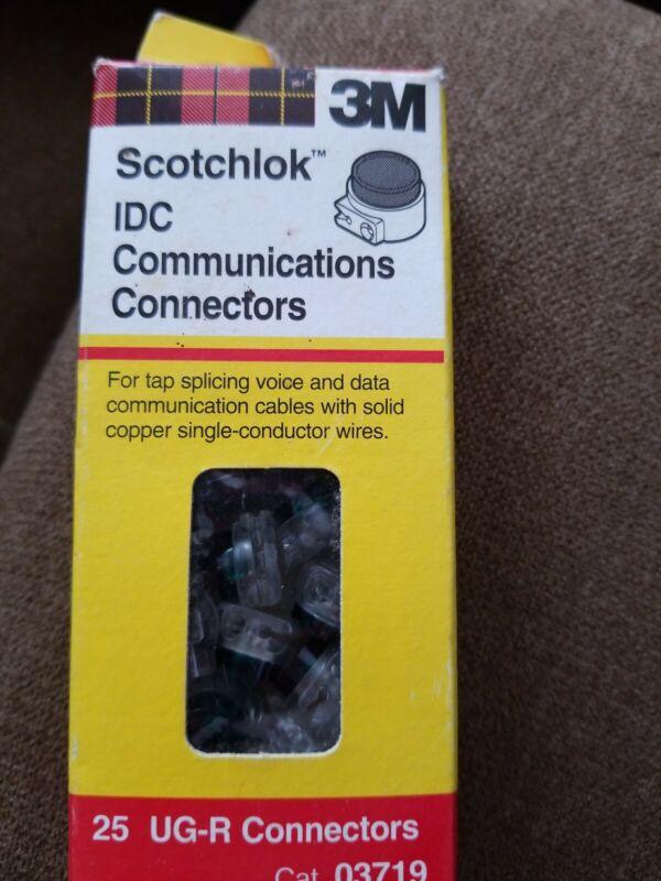 3M scotchlok IDC communication connectors