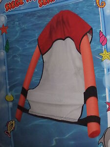 New Floating Pool Noodle Hammock Chair Red Raft Swimming Pool Toys Float Fun Ebay