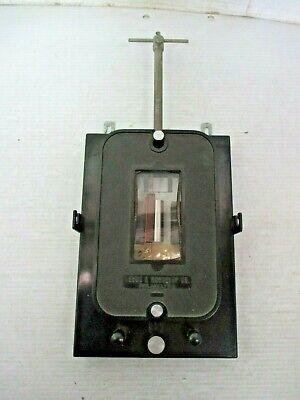 Vtg. Leeds Northrup Galvanometer Scientific Instrument Wall Hanger Steampunk