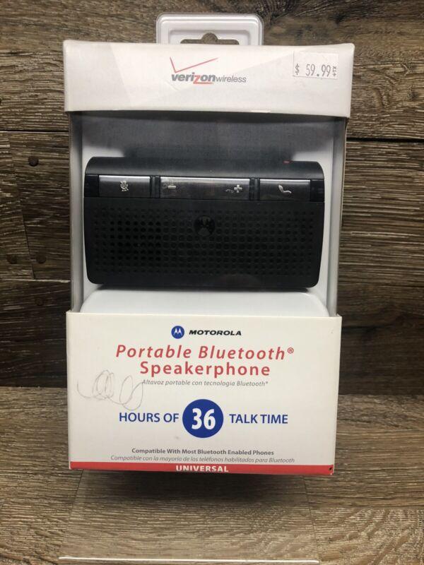 New In Box Motorola MBT215HF Verizon Wireless Bluetooth Portable Speakerphone